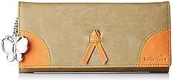 Butterflies Womens Wallet (Beige) (BNS 2358BG)