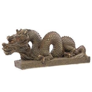 Statuette dragon chinois sculpt d co de jardin statue for Decoration jardin chinois