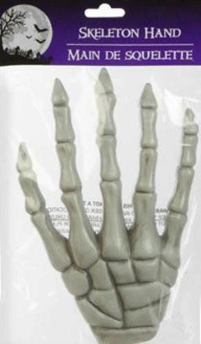 "8½"" Severed Skeleton Hand Creepy Halloween Party Prop or Haunted House Decorations (Pack of 2)"