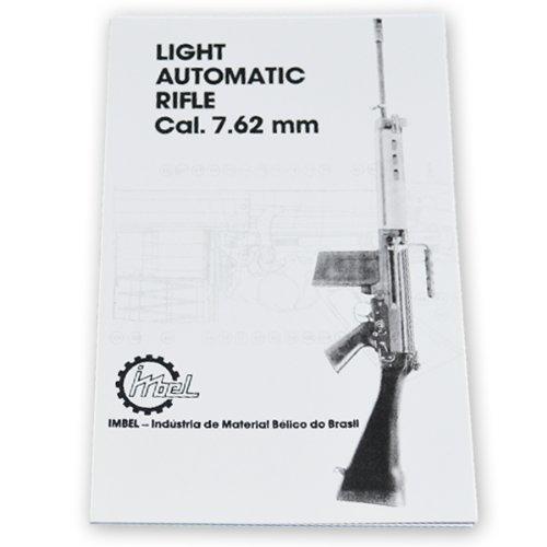 Cal. 7.62 MM Light Automatic Rifle Manual - Military Technical Manual