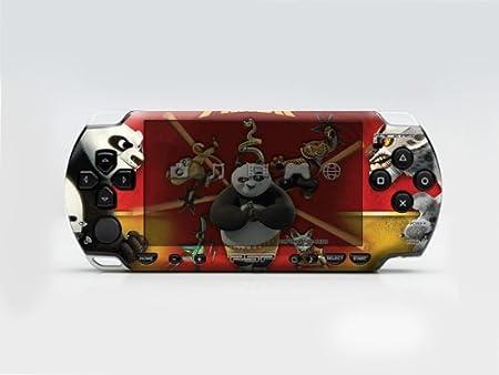 Kung-Fu Panda PSP (Slim) Dual Colored Skin Sticker, PSP 2000
