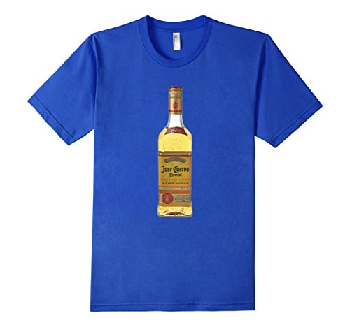jose-cuervo-gold-tequila-tee-shirt-herren-grosse-m-konigsblau