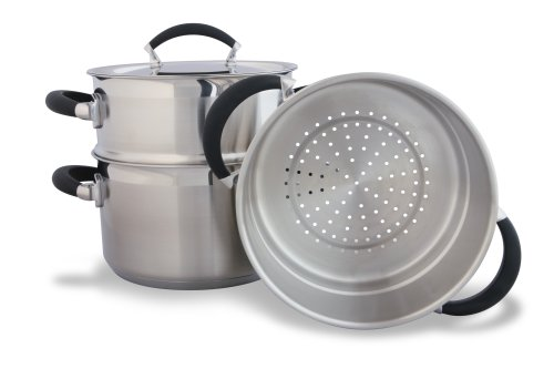 Swift Supreme sg 3 Tier Steamer and Lid, 18cm