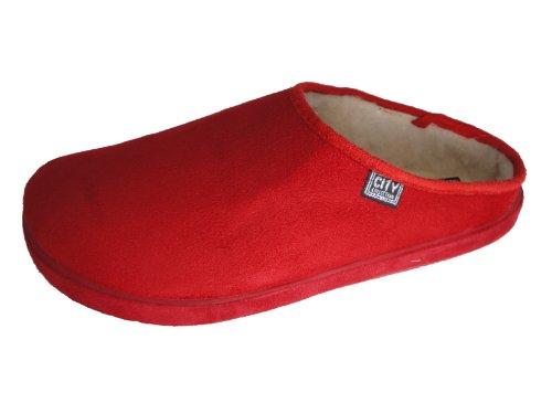 Cheap Andres Machado Women's RED Scandinavians Slippers Big Size Shoes (B0049HF33O)