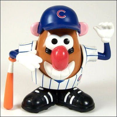 Buy Low Price Promotional Partners Worldwide MLB Chicago Cubs Mr. Potato Head Figure (B000TH71AQ)