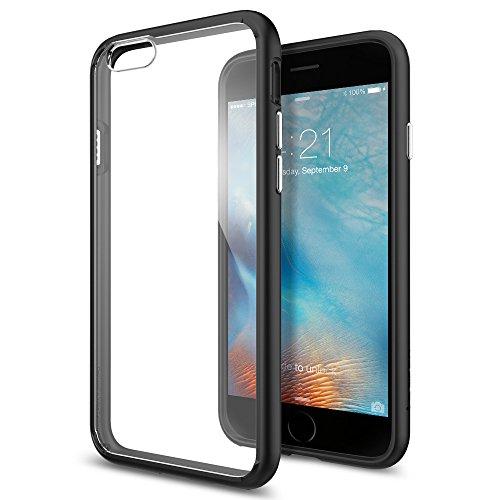 SpigeniPhone6S ケース / iPhone6 ケース ウルトラ・ハイブリッド 米軍MIL規格取得 (ブラック SGP11600)
