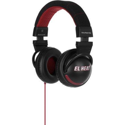 Skullcandy Hesh Team Collection Headphones - 2011 El Heat (2011 Color), One Size