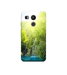 Ebby Premium Back Cover For LG Nexus 5X