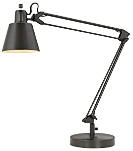Cal Lighting BO 2165TB DB Table Lamp With Metal Shades