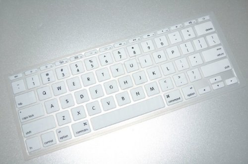 Review Of Nango White Silk-screen Pattern Soft TPU Ultrathin Keyboard Silicone Skin Cover for Macboo...