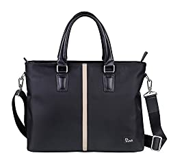 RO - 1001 - Black -Briefcase Soft Laptop Bag