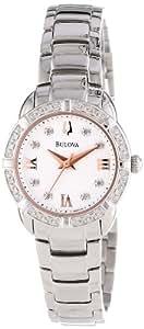 Bulova Women's 96R176 Diamond Set Case Watch