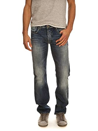 Jeans REG USED FRIPP/INDIGO CLAIR TEDDY SMITH W28 Homme