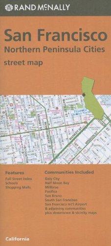 Folded Map San Fran & No Penin Streets, CA PDF
