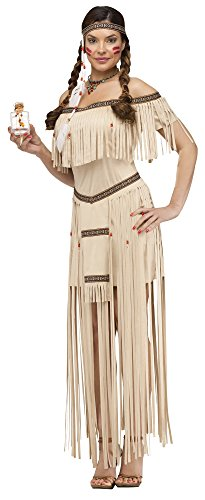Moon Dancer Native American Deluxe Adult Costume Size:MediumLarge
