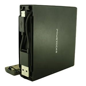 Powerocks Magic Cube 12000mAh Universal Extended Battery - Black