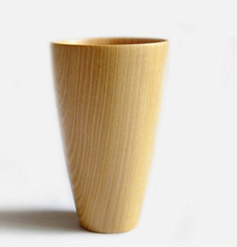1-X-Primitive-Handmade-Natural-Wood-Wooden-Cup-Mug-New