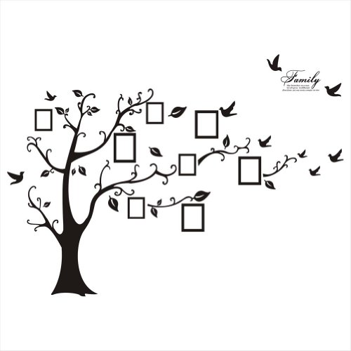 Sweet Memories Photo Frame Wall Decal Family Tree Photo Gallery Wall Decal (Picture Tree For Wall compare prices)