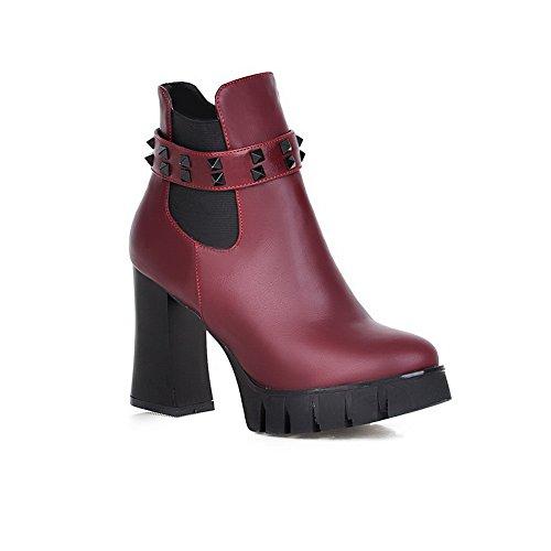 balamasa-ladies-chunky-heels-winkle-pinker-rivet-datered-imitated-leather-boots-6-uk