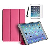 Tedim Ultra Thin Smart Case Protective Cover for Apple iPad Air - Pink