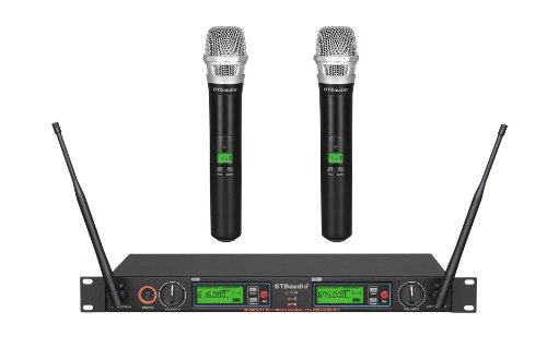 GTD Audio G-733H 2x800 Channel Diversity UHF Wireless microphone mic system