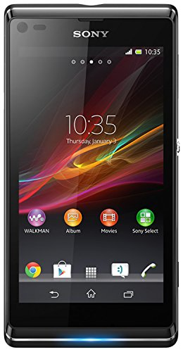 Vodafone Sony Xperia L Pay As You Go Handset - Black Black Friday & Cyber Monday 2014