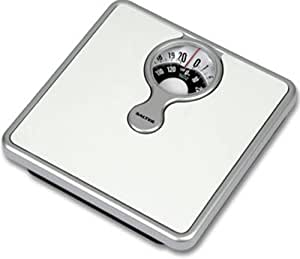 Salter 484 Mechanical Bathroom Scale with Magnifying Lens