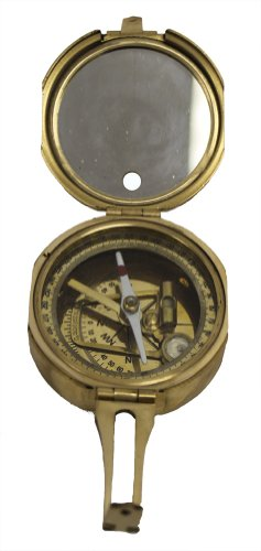"3"" Brunton Style Compass w/Box - Navigational Instrument 1"