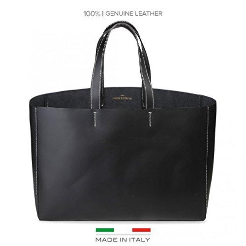 Made In Italia Romina, Borsa a spalla donna nero nero