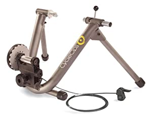 CycleOps Mag+ Indoor Bicycle Trainer Trainer with Bar Mounted Remote Shifter by CycleOps
