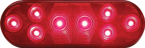 Peterson Manufacturing 420R-5 Oval Led Tail Light