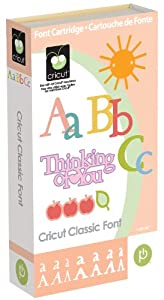 Amazon.com - CRICUT CLASSIC FONT Create Expression Machine Cartridge