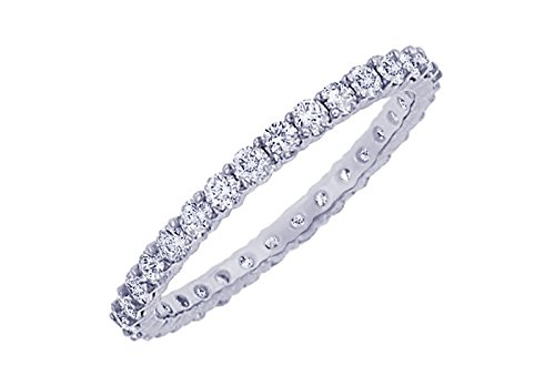 Diamond Eternity Bangle Platinum6.00 CT Diamonds