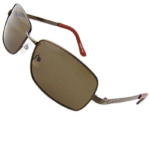 Como Men Single Bridge Colored Lens Fishing Polarized Sunglasses