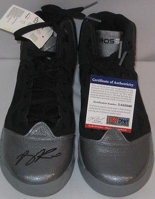 Derrick Rose Adizero Rose 2.5 Shoe Signed Autographed Chicago Bulls - Psa/Dna Certified - Autographed Nba Sneakers