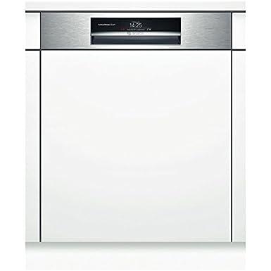 Bosch SMI88TS03E lave-vaisselle - lave-vaisselles (Semi intégré, A, A+++-10%, Acier inoxydable, toucher, TFT)