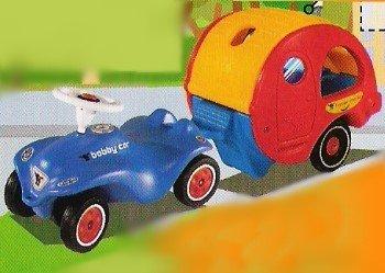 big new bobby car blau travel anh nger trailer amazon. Black Bedroom Furniture Sets. Home Design Ideas