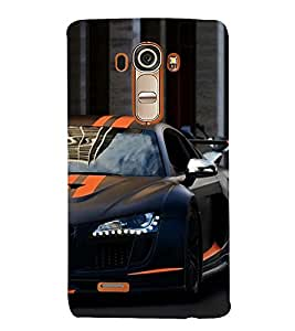 Vizagbeats half sports car Back Case Cover for LG G4::LG G4 H815