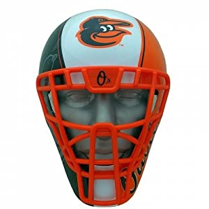 Buy Baltimore Orioles Catcher Mask Helmet Style FanMask MLB Baseball by Patch Collection