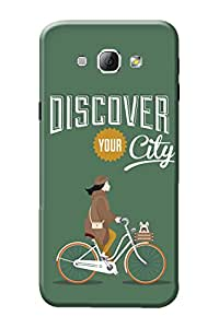 Samsung A8 Cover, Premium Quality Designer Printed 3D Lightweight Slim Matte Finish Hard Case Back Cover for Samsung Galaxy A8 by Tamah