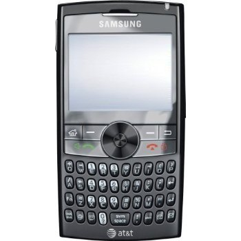 Samsung BlackJack II I617 Unlocked Phone with QWERTY Keyboard, WM6, GPS, 2 MP Camera and 3G Support - Unlocked Phone - US Warranty - Black