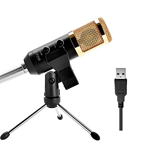 fifine usb studio broadcast recording condenser microphone for pc computer laptop mac with. Black Bedroom Furniture Sets. Home Design Ideas