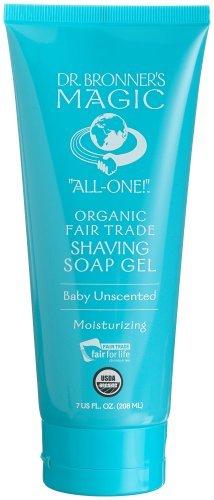Dr. Bronner'S Organic Shaving Gel Naked Unscented 7 Oz