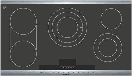 Bosch NET8654UC 36 800 Series Smoothtop Electric Cooktop