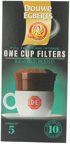 Douwe Egberts Reserve Blend One Cup Filters (Pack of 4)