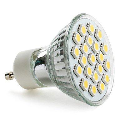Gu10 3.5W 21X5050 Smd 200-220Lm 2800-3200K Warm White Light Led Spot Bulb (230V)