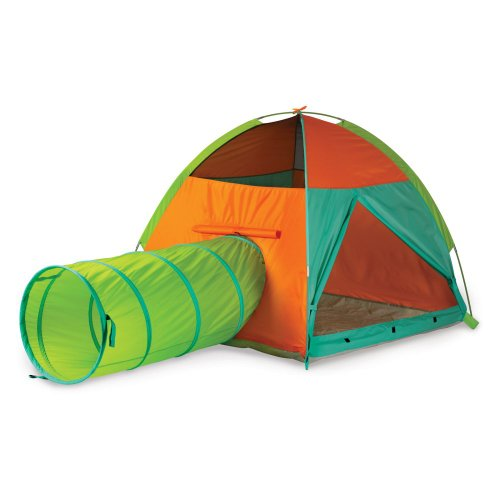 Pacific Play Tents Hide Me Tent & Tunnel Combo - Green