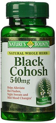 缓解更年期综合症,Nature's Bounty自然之宝  黑升麻胶囊 100粒图片