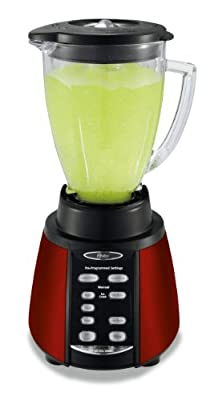 Oster Counterforms 6-Cup Glass Jar 7-Speed Blender, Brushed Stainless Steel from Jarden Consumer Solutions