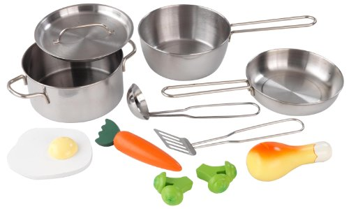 KidKraft,  Deluxe Cookware Set, (11 pieces)